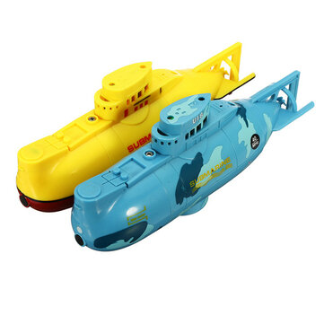 6CH Speed Radio Remote Control Electric Mini RC Submarine Boat Kids Children Toy