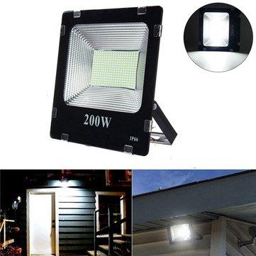 200W SMD5630 LEDアルミニウム洪水屋外屋外IP66防水ヤードガーデン風景ランプAC180-265V