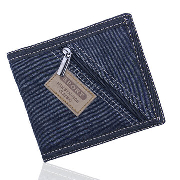 Men Women Novel Fashion Original Zipper Pocket Wallet