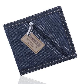 Men Women Novel Fashion Original Zipper Pocket Wallet