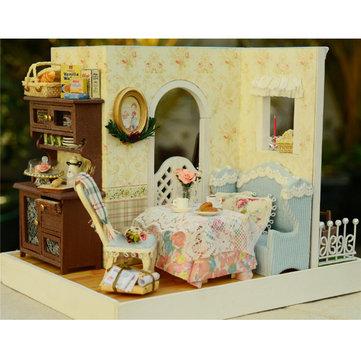 CUTE ROOM DIY Dollhouse Handicraft Doll House Mary's Sweet Baking Miniature Kit Gift
