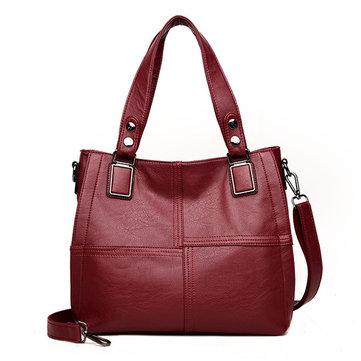 Women PU Leather Classic Handbag Crossbody Bag