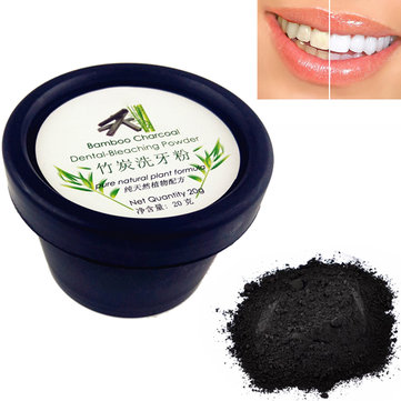 20g Teeth Whitening Charcoal Powder Tooth Stain Removal
