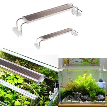 12W 14W Ultra Thin Aluminum Alloy SMD LED Aquarium Lighting for For Fish Tank AC220V