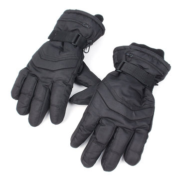 Motorcycle Winter Warmer Waterproof Full Finger Gloves Keep Warm Durable