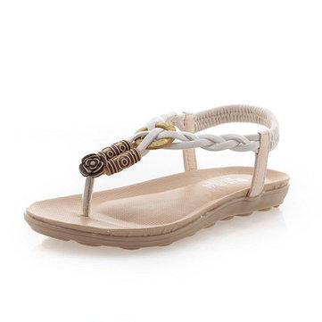 Летние женские сандалии флип-флоп Пляж Открытый Flats