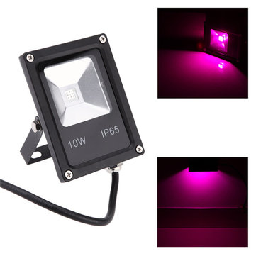 10W Waterproof Plant Grow LED Flood Light Ultra-thin 6 Red 3 Blue for Indoor Outdoor AC85-265