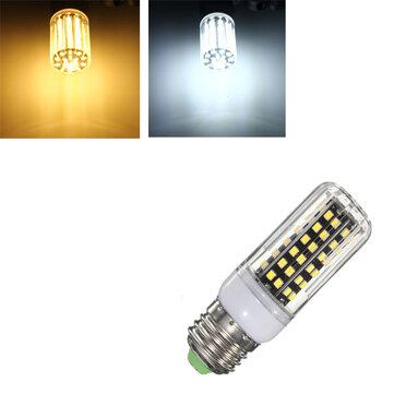 E27/E14/B22/G9/GU10 7W 84 SMD 2835 LED Cover Corn Light Lamp Non-Dimmable Bulb AC220V