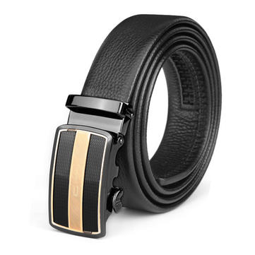 120CM Brand C Men Belt First Layer Cowhide Business Automatic Buckle Model 002