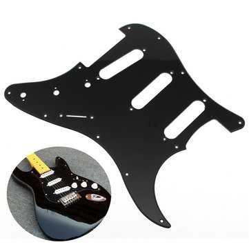 3Ply Electric Guitar Pickguard 1Ply Backplate Knobs Replacement Screws Set