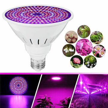 E27 30W SMD2835 LED Grow Light Full Spectrum Plant Lamp Set for Flower Seeds Greenhouse AC85-265V