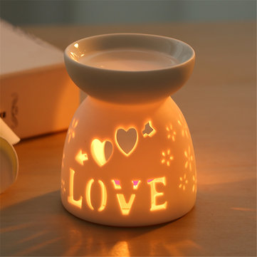 Aromatherapy Diffuser Fragrance Lamp Scent Candle Holder Essential Oils Burner Christmas Decoration