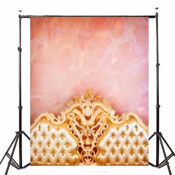 Sofa Pink Wall Theme Vinyl Photography Background Backdrop for Studio Photo 7x5ft