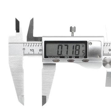 Digital 0-300mm 0.01mm Caliper Stainless Steel Electronic Vernier Caliper Metric/Inch Measuring Tool