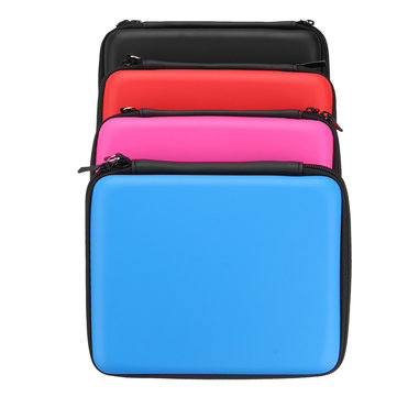EVA Hard Carrying Case Handle Bag Cover with Mesh Pocket Strap For Nintendo 2DS Game Console