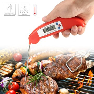 -50 ~ 300 ° C Instant LCD Lees Food Probe Meat Kitchen BBQ Thermometer Temperatuur