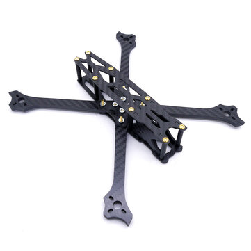 Cockroach 5 216mm Wheelbase 5mm Arm Thickness 5 Inch Carbon Fiber Frame Kit for RC Drone FPV Racing
