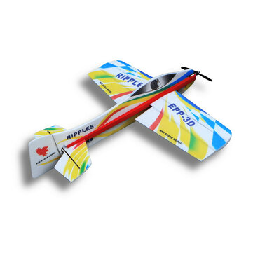 Wingspan 1000mm Ripples Trainer Beginner 3D Aerobatic EPP Glider RC Airplane KIT