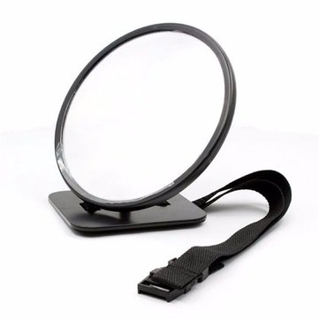 Tirol Auto Adjustable Baby Safety Mirror Car Rear Baby Rounded Safety Mirror 19cm
