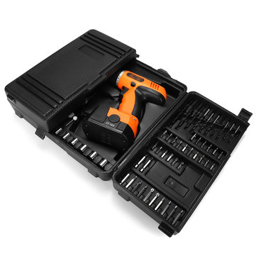 92Pcs Cordless Electric Impact Drill Accessory Set 18V Power Drills Electric screwdriver Tool Kit