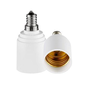E12 to E27 Bulb Adapter Lampholder Base Socket for LED Light AC110-240V