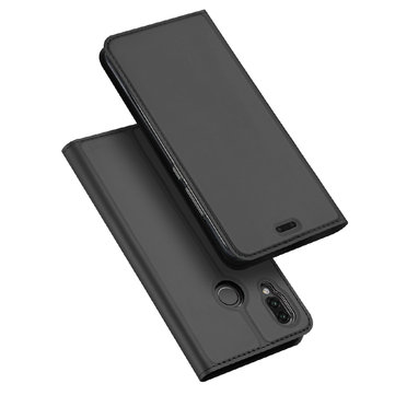 DUX DUCIS Flip Shockproof Full Cover PU Leather Protective Case For Huawei P20 Lite