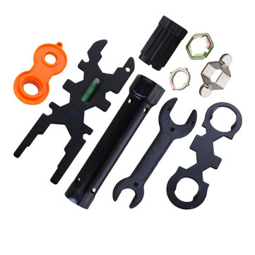 KCASA Multifunctional Bathroom Sink Faucet Shower Faucet Pipe Installation Tools Set Multiple Optional Wrench Spanner