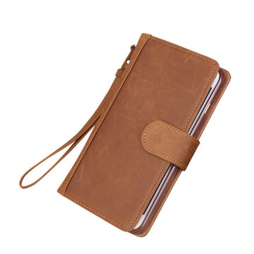 Genuuine Leather Case Flip Wallet Card Bag Case Phone Cover For Apple iPhone 6 6s Plus