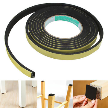 3m Black Stripping Seal Sponge Rubber High Viscosity EVA Single Seal