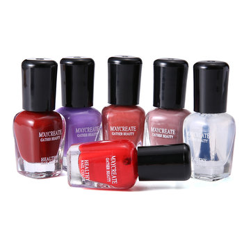 6pcs Water-Based Nail Polish Set