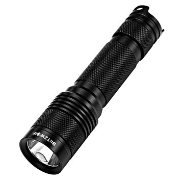 BlitzWolf® BW-T1 XP-G3 S4 750Lumens Portable Tactical LED Flashlight 18650