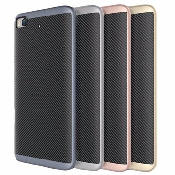 UCASE Luxury Hybrid Silicone Back +PC Frame Case For Xiaomi Mi 5s Mi5s