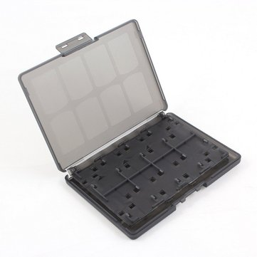 18 in 1 Game Memory Card Holder Case Storage Box for Sony PS Vita PSV