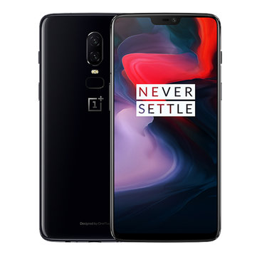 OnePlus 6 6.28 19英寸:9 AMOLED Android 8.1 NFC 8GB内存128GB ROM Snapdragon 845 4G智能手机