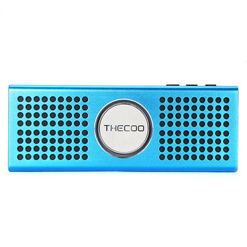 THECOO BTD708K Blade Altra-thin Metal Outdoor Portable TF Card Wireless Bluetooth Speaker