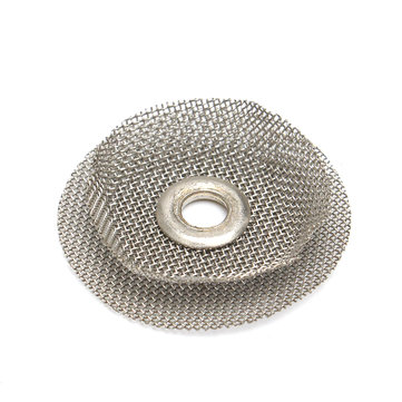 TIG Welding Filter Heat Shield Steel Woven Wire Replacement 22x18x4mm