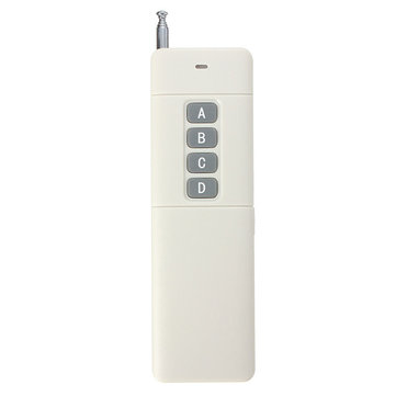 4 Channel 433MHz 3000m Wireless Remote Control For Home Door