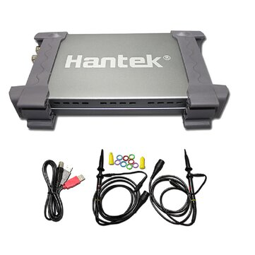 Hantek 6022BE PC-Based USB Digital Storag Oscilloscope 2Channels 20MHz 48MSa/s With Original Box