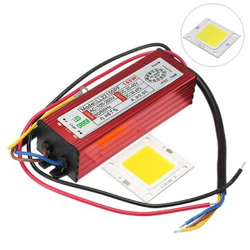100W Constant Current High Power Light Chip With LED Driver Power Supply for Flood Light DC20V-40V