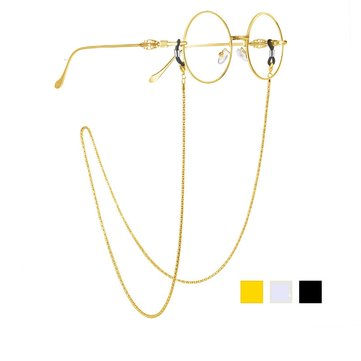 Reading Glasses Sunglasses Chain Cords Holder Metal Strap Chainlet