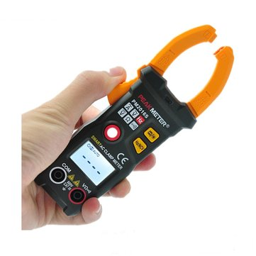 PEAKMETER PM2016S 6000 Counts Multimeter NCV Test V/A/Ω Auto Scan Clamp Meter