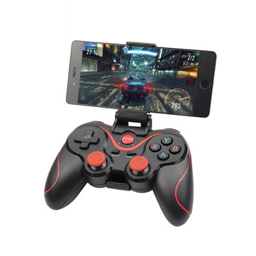 Bakeey Wireless bluetooth 3.0 Gamepad Joystick Game Controller+Holder+Receiver for Phone Tablet