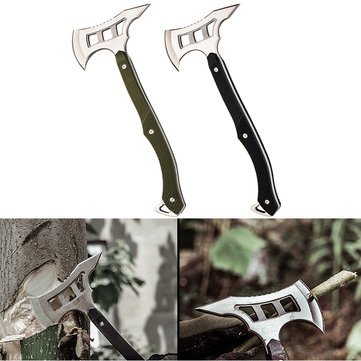 IPRee® Camping EDC Survival Axe Self Defense Emengency Backpacking Hammer Tool