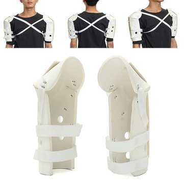 Adjustable Shoulder Support Brace Sprain Fracture Injury Strap Wrap Pain Relief