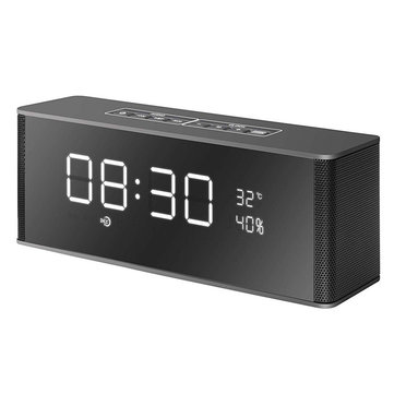 Multifunctional Digital Display Alarm Clock FM Radio TF Card Hands-free Wireless Bluetooth Speaker
