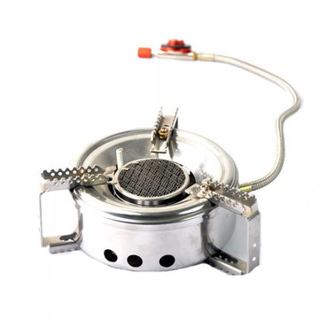 Outdoor Camping Infrared Ray Stove Picnic Cooking Windproof Burner Furnace High Altitude Cooker