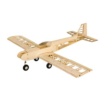 T30 1400 1.4m Wingspan Balsa Wood Trainer RC Airplane DIY Model With/Without Power Spare Parts