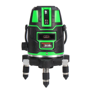 360° Rotary Green 5 Line Laser Level Self Leveling Vertical Horizontal Level Measuring Tool