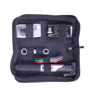 DUUTI TL-56 Bike Bicycle Repair Tool Kit Tire Repair Set Pump 16 in 1 Tool Wrench Patch Glue Cycling Tool