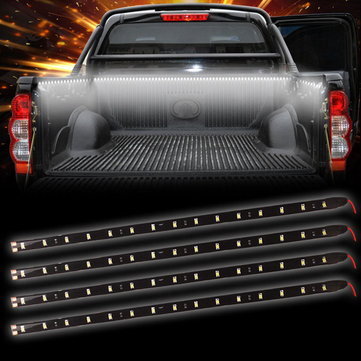 47Inch 2835 60LED Car Tailgate DRL Flexible Strip Light Brake Turn Signal Lamp Bar for Truck